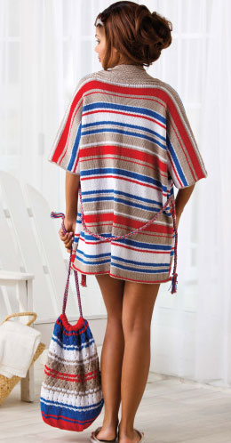 Beach-cover-up-and-bag-set-knitting-pattern-free-1