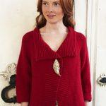 Bella Garter Stitch Jacket Free Debbie Bliss Knitting Pattern