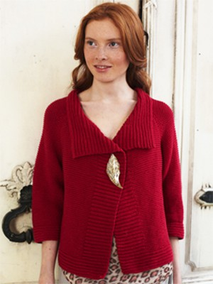 Bella Garter Stitch Jacket Free Debbie Bliss Knitting Pattern