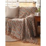 Bernat Ripple Throw Free Easy Knitting Pattern