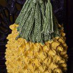 Big Pineapple Bag Free Knitting Pattern