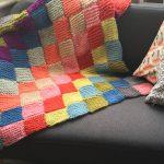Blanket for Calais Free Knitting Pattern
