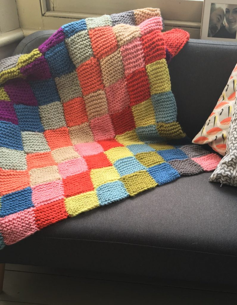 Free Free Garter Stitch Blanket Patterns Patterns