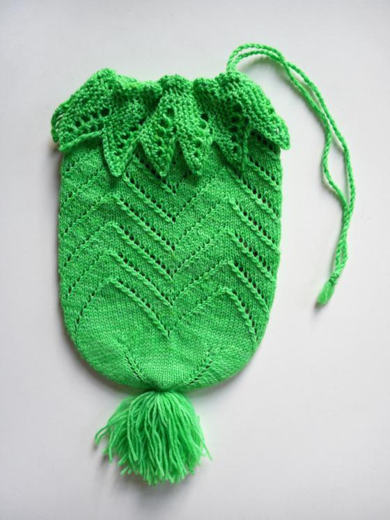 Buideltje Bag Free Knitting Pattern