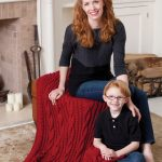 Cabled Comfort Throw Free Knitting Pattern