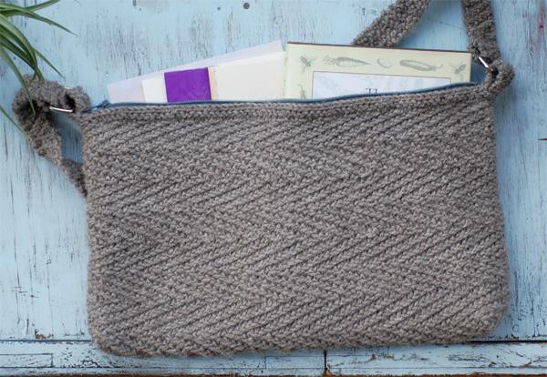 Crestone Tasa Bag free knit pattern
