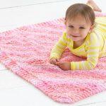 Cuddle Bug Baby Blanket Free Pattern