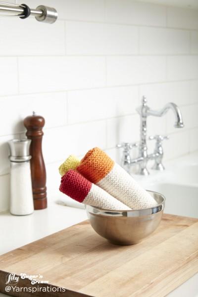 Dippity Doo Dah Knit Dishcloth Free