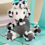 Dominique Pomp-a-Poodle Free Dog Toy Knit Pattern