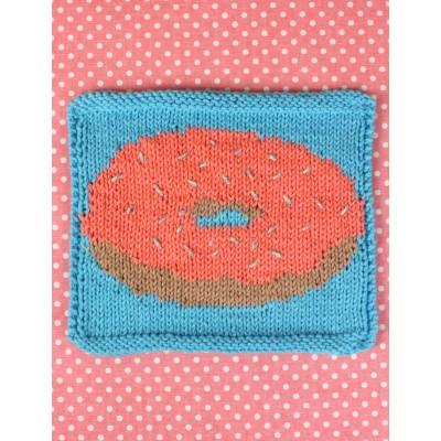 Donut Dishcloth Free Intermediate Knit Pattern