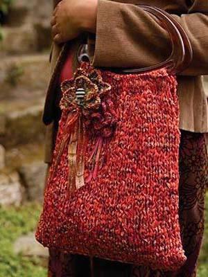 Easy Peasy Bag Free Knitting Pattern