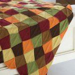 Falling Leaves Afghan free easy knit pattern