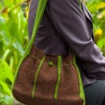 Felted Tuck Purse Free Knitting Pattern