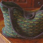 Felted Weekend Tote Free Knitting Pattern