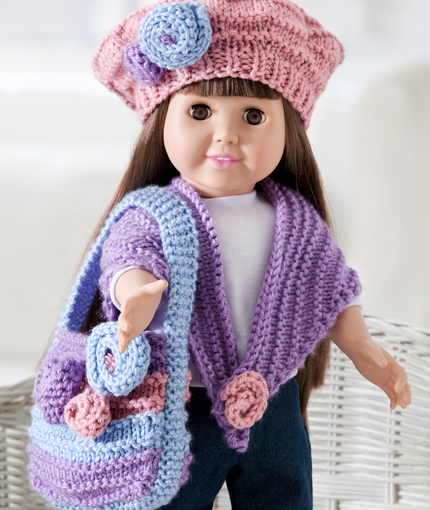 Free American Girl clothes knitting patterns Patterns ⋆ Knitting ...