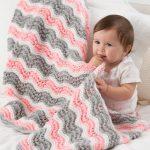 Baby Girl Chevron Blanket Free Pattern