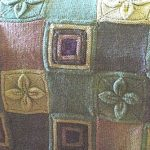 Free knitted patchwork throw pattern