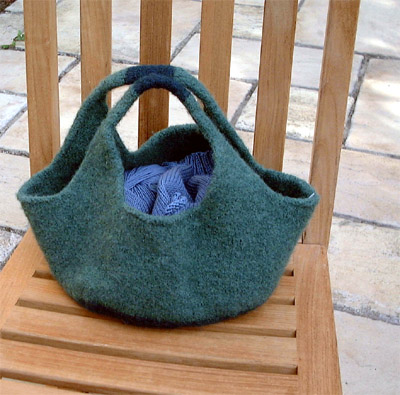 French Market Bag Free Knitting Pattern