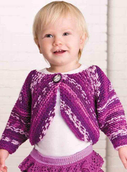 Free free garter stitch baby cardigan knitting patterns ...