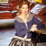 Gloria Slip Stitch Yoke Cardigan Free Knit Pattern