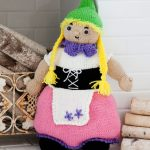 Gnora the Gnome Free Toy Knitting Pattern