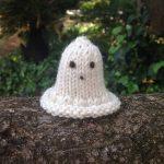 Halloween Ghost Knitting Pattern