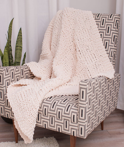 Heavenly Throw Free Knitting Pattern