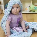 Hooded Baby Blanket Free Knit Pattern