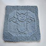 It's a Bat, Man! Cloth Free Knit Pattern