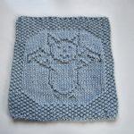 It's a Bat, Man! Cloth Free Knit Pattern