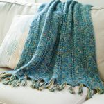 Kachess Ripple Stitch Throw Free Knitting Pattern