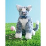 Katie the Kitty Free Intermediate Child's Toy Knit Pattern