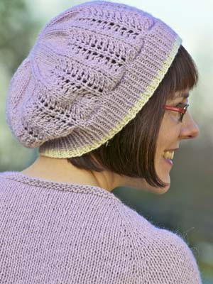 Kiri Free Lace Hat Knitting Pattern Knitting Bee