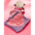 Kiss Me Candy Dishcloth Free Knitting Pattern