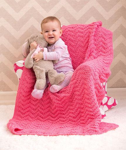 knit-chevron-baby-blanket-free-pattern