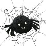 Knit Spider Free Halloween Pattern