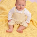 Lacy Baby Blanket Free Knitting Pattern