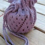 Lacy KiP Bag Free Knitting Pattern