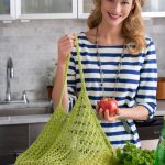 Lacy Knit Market Bag Free Pattern