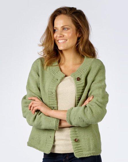 Lady's Jacket Free Knitting Pattern