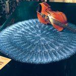 large round lace doily free knit pattern