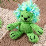 Leon the Lion Free Knitting Pattern