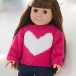 Love My Doll Sweater Free Knit Pattern