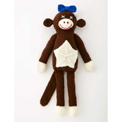 Free Free Monkey Knitting Patterns Patterns Knitting Bee 6 Free