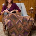 Mitered Square Throw and Pillow Free Knitting Pattern