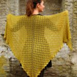 Morgenfryd Large Lace Shawl Knit Pattern