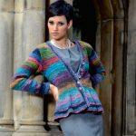 Noro peplum cardigan free knitting pattern