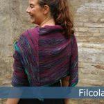 Olilia - Garter Stitch Shawl