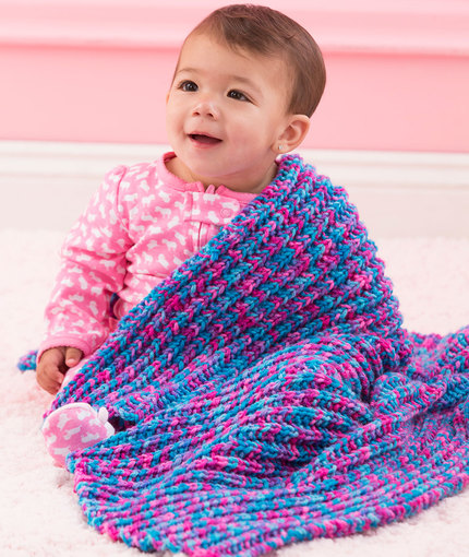 One-Row Baby Blanket