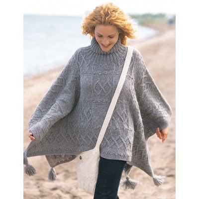 Patons Blanket Poncho and Bag Free Knit Patterns